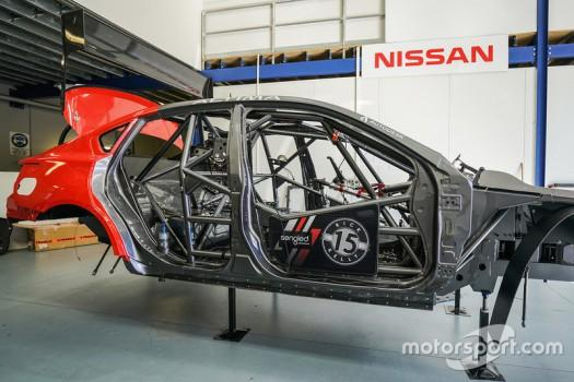 v8supercars nissan chassis rebuild nissan motorsports builds a new chassis for rick k 74